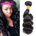 Virgin Peruvian Loose Wave 4Pcs Lot Ula Hair Products Virgin Peruvian Hair Bundles Grade 7A Unprocessed Virgin Hair 4 Bundles