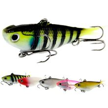 WLDSLURE  Fishing Lures 95mm 20g Soft Vibe Lures Soft Plastics Jig Head Bait