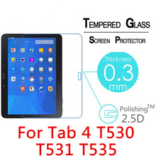 цены на Toughened Tempered Glass For Samsung Galaxy Tab 4 10.1 T530 T531 T535 10.1