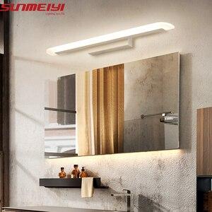 Image 2 - Moderne Acryl Led Spiegel Licht Badkamer Make Wandlampen Led Vanity Wc Wandmontage Schansen Verlichting Armatuur