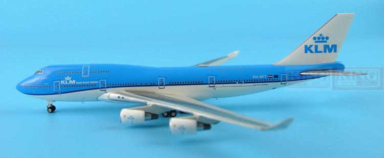 GJKLM1211 GeminiJets Holland Royal Air PH-BFT 1:400 B747-400 commercial jetliners plane model hobby special offer wings xx4232 jc korean air hl7630 1 400 b747 8i commercial jetliners plane model hobby
