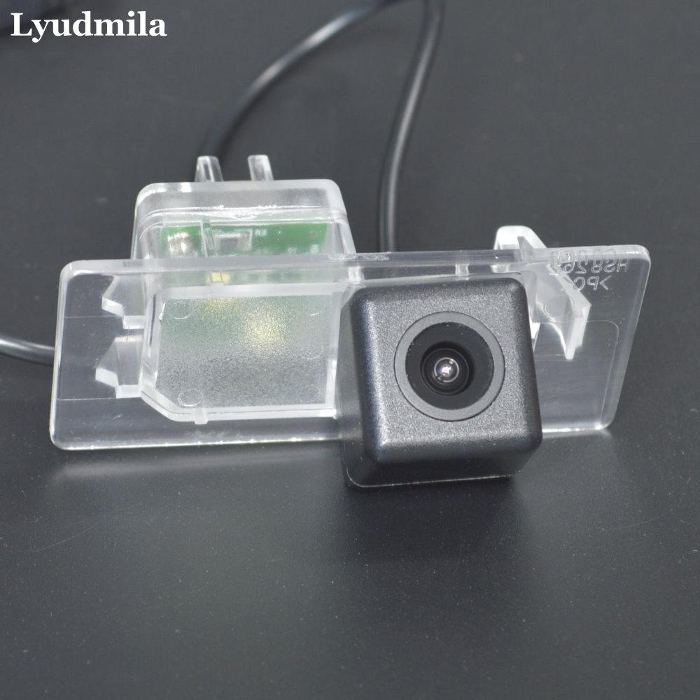 LYUDMILA Back up Reversing Camera For Volkswagen Passat Variat B7 Alltrack B8 2011~2018 Car Rear View Camera HD CCD Night Vision