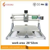 Quality CNC 2632 500mw 5 5w ER11 GRBL DIY Mini CNC2632laser Engraving Machine 3 Axis Pcb