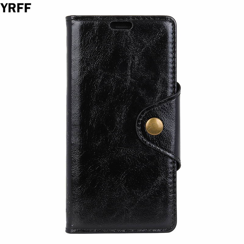 YRFF For Alcatel POP 3 Case Classic Cowhide Texture Luxury Flip Leather Case For Alcatel POP 3 5.5'' 5.0'' Cover Cases