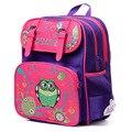 2016, новинка, дизайн Delune, детский рюкзак для школы, сова из мультфильма, вышивка, сумка на плечо для студентов, для девочек, Mochila Feminina