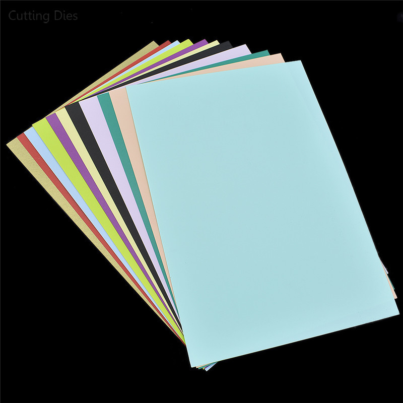 5Sheets Random Color Printer Inkjet Shrinks Film Plastic Sheet For DIY Creative Printable Embellishments Materials