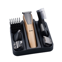 6в1 набор для ухода за волосами триммер электрический машинка для стрижки волос для мужчин машинка для стрижки бороды тример станок для бритья для бровей отделка лица Тело грумер е