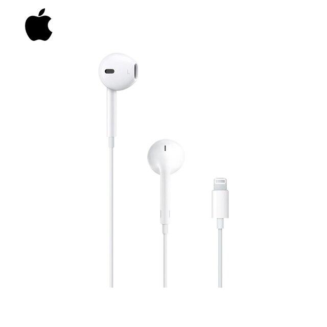 Гарнитура проводная Apple EarPods MMTN2ZM/A белый