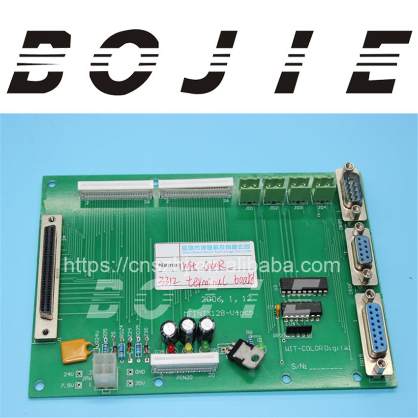 Solvent printer Wit-color Ultra3312 3308 terminal board wit color printer motor driver for 3312 3308 machines