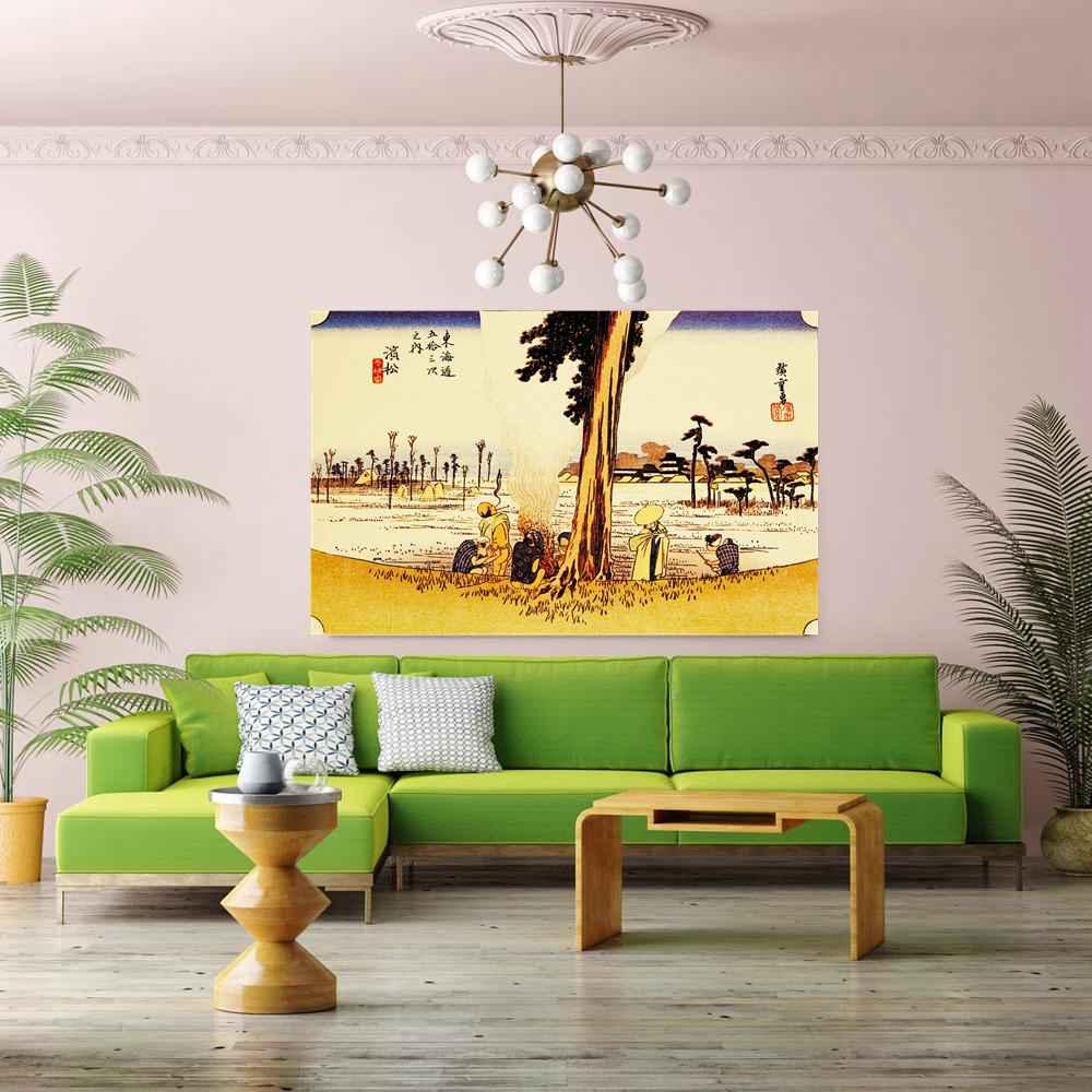 Online Shop Japan Canvas Print Vintage Home Decoration Landscape ...