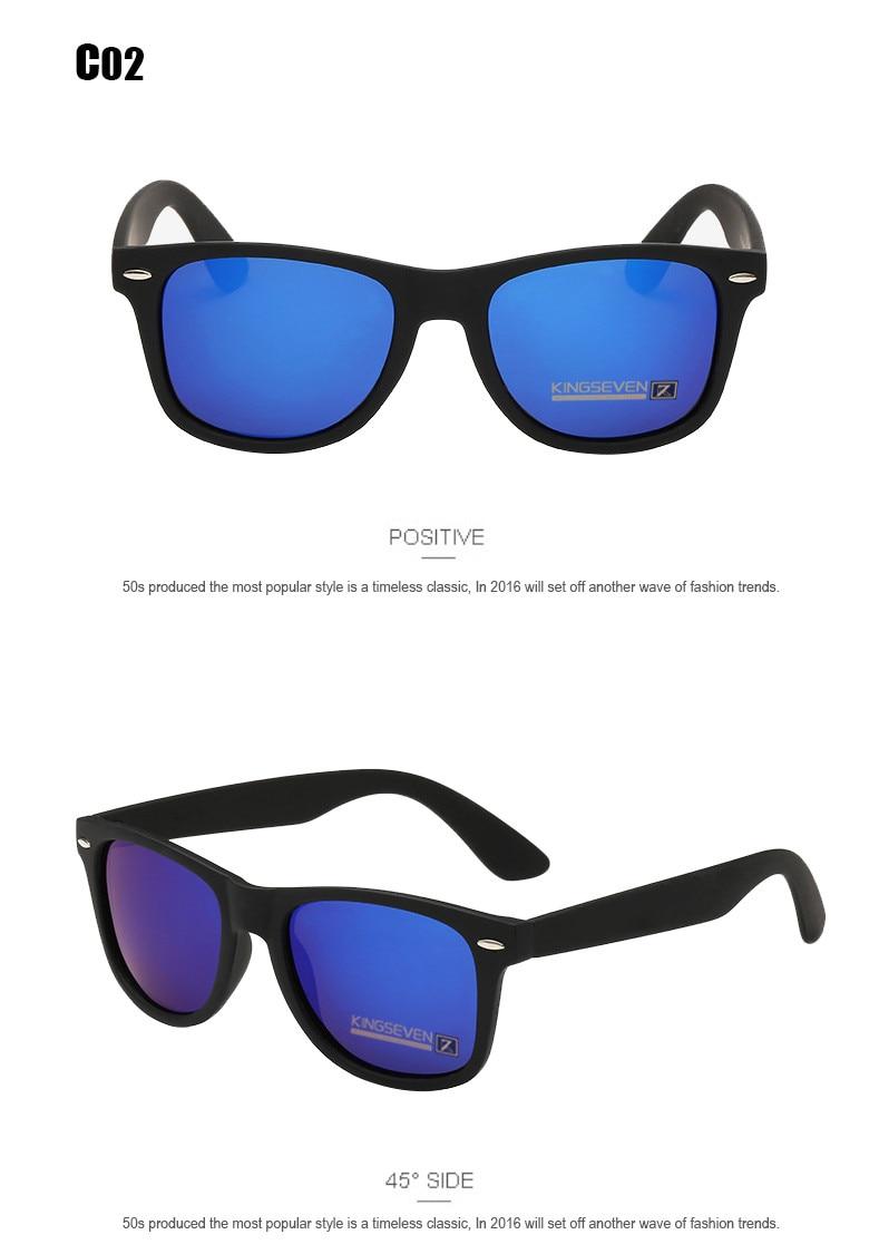 54mm Fashion Unisex Square Vintage Polarized Sunglasses mens Polaroid Women Rivets Metal Design Retro Sun glasses gafas oculos 6
