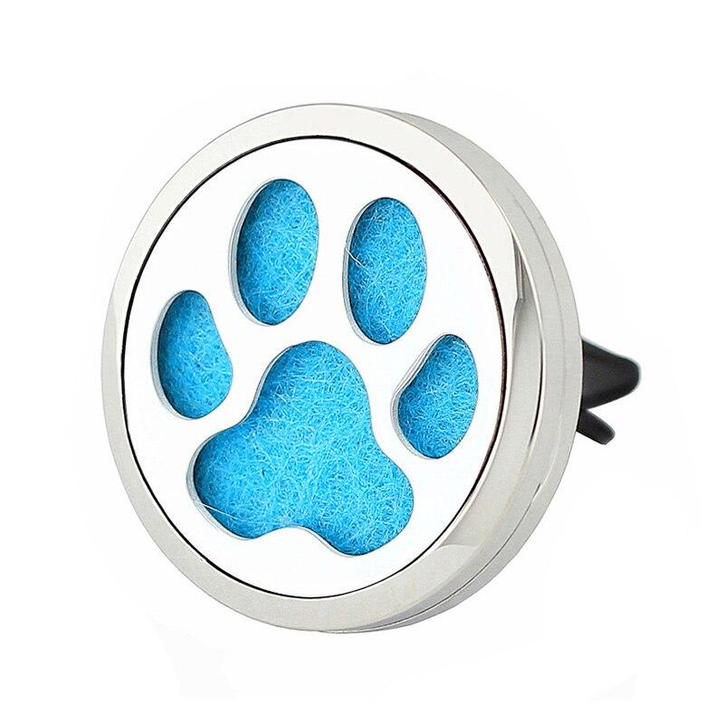 35mm 316L auto aromaterapie kapsa klip nový vůz osvěžovač vzduchu parfém kapsa auto difuzor šperky velkoobchodní dodávky