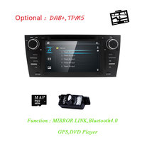 Автомобильный DVD НАВИГАЦИЯ для BMW E90 E91 E92 E93 gps 3g Bluetooth Радио USB SD Canbus Бесплатная сзади Камера + 8 ГБ карта с SWC RDS AM/FM USB