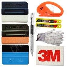 wool suede magnet felt squeegee cutter knife blades gloves Decals Sticker Vinyl Film Installation Car Wrap Applicator Tool K46