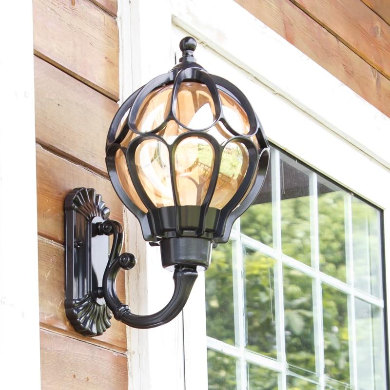 A1 European outdoor wall lamp Garden lights Garden lights waterproof lamp room balcony wall lamp corridor lamp FG243