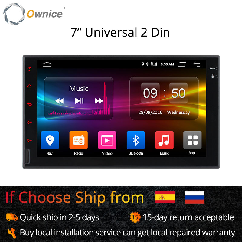 Ownice K1 K2 Octa 8 Core Android 2G RAM 32GB ROM Ondersteuning 4G LTE - Auto-elektronica