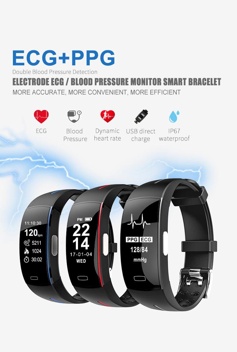 Unterhaltungselektronik Lemdioe Smart Fitness Armband Farbe Bildschirm Ip67 Wasserdicht Herz Rate Blutdruck Sauerstoff Multi Sport Modus Band Für Männer Frauen PüNktliches Timing Intelligente Armbänder
