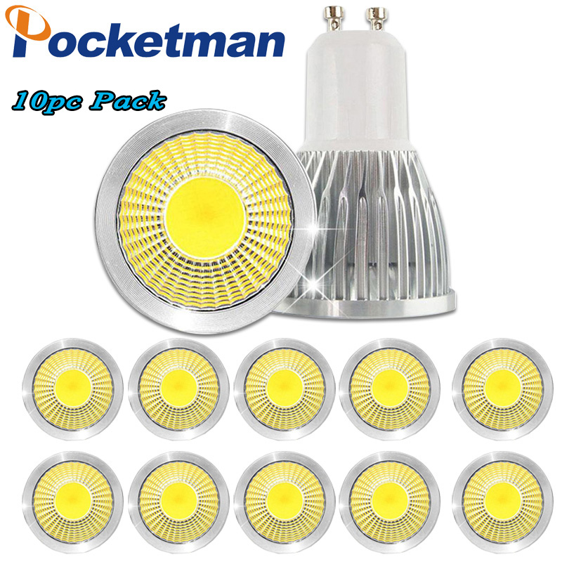Super bright spotlight LED Lamp LED Spotlight 3W 5W 7W Bombillas COB GU10 Spot light Lampada LED Bulb 10pcs Wholesale luckyled brand bombillas led bulb spot light 3w 4w 5w 6w smd 2835 5730 gu10 led spotlight ac110v 220v for home lampada lamp