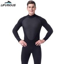 2017 Новый холодный черный водолазный триатлон неопреновый гидрокостюм для плавания для серфинга для серфинга Scuba 3mm Equipment Split Suit Spearfishing S-XXL