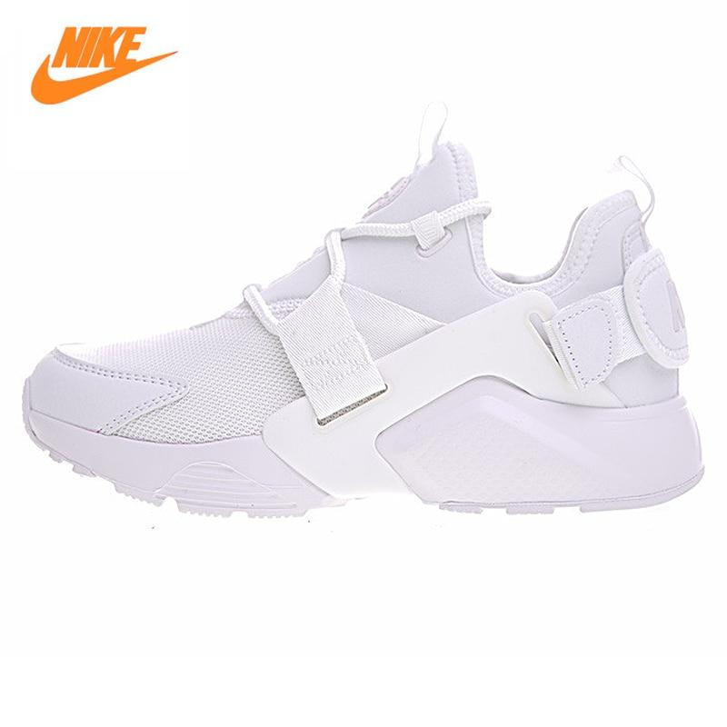 NIKE AIR HUARACHE CITY LOW Women s font b Running b font Shoes Original Women Air