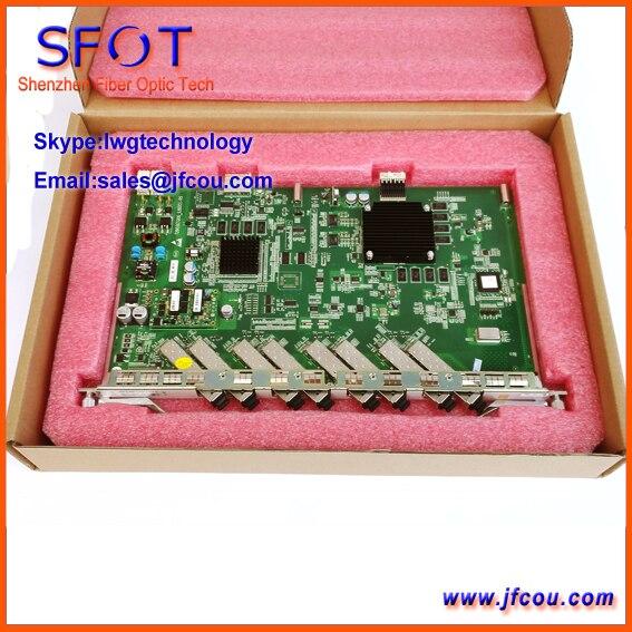 Оригинал ZTE 8 портов GPON плата для C300 GPON OLT. GTGO доска с 8 модулей. высокая скорость