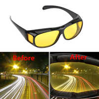 Night Vision Driver Goggles Unisex HD Vision Sun Glasses Car Driving Glasses UV Protection Polarized Sunglasses Eyewear