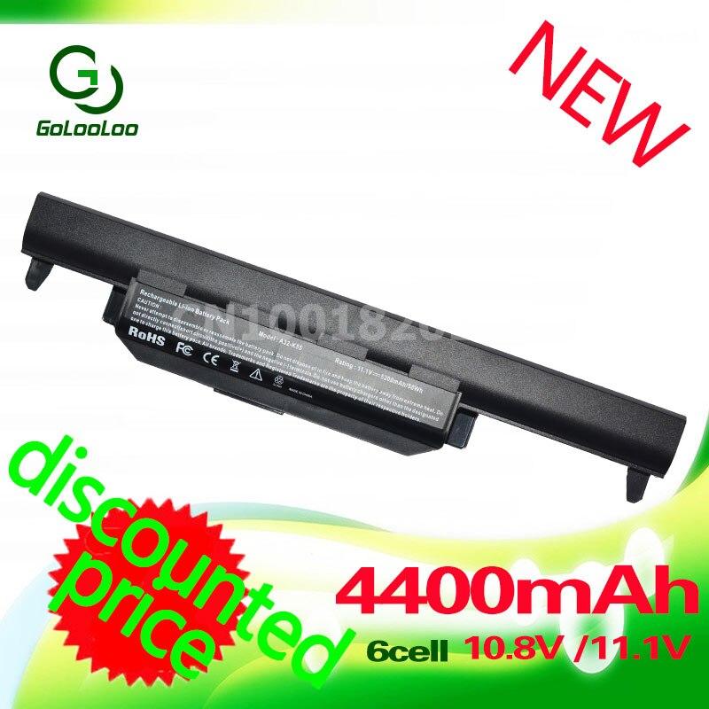 ShenZhen HuaXin technology Co,.Ltd Golooloo 4400mAh Laptop Battery For ASUS A32-K55 K55 Series A33-K55 A41-K55 A75A X55A A95 A55D Series K45D K45VM A45A A45DE