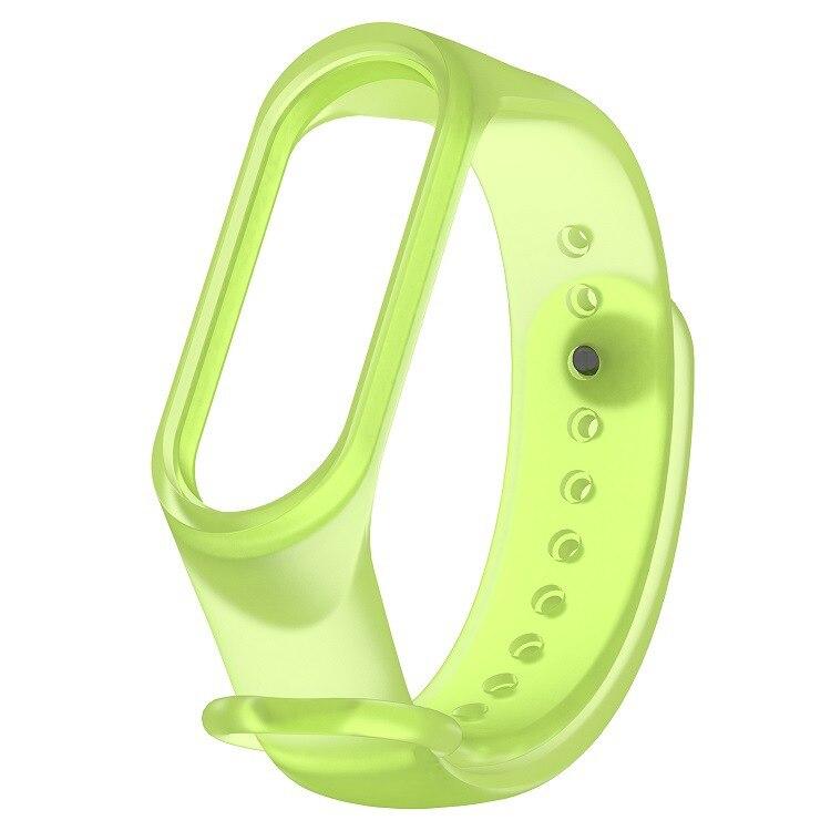 Mi Band 3 Strap Bracelet Transparent Silicone Wristband And Xiaomi Mi Band4 Xiomi Band Smart Mi3/4 Band Accessories Wrist Strap