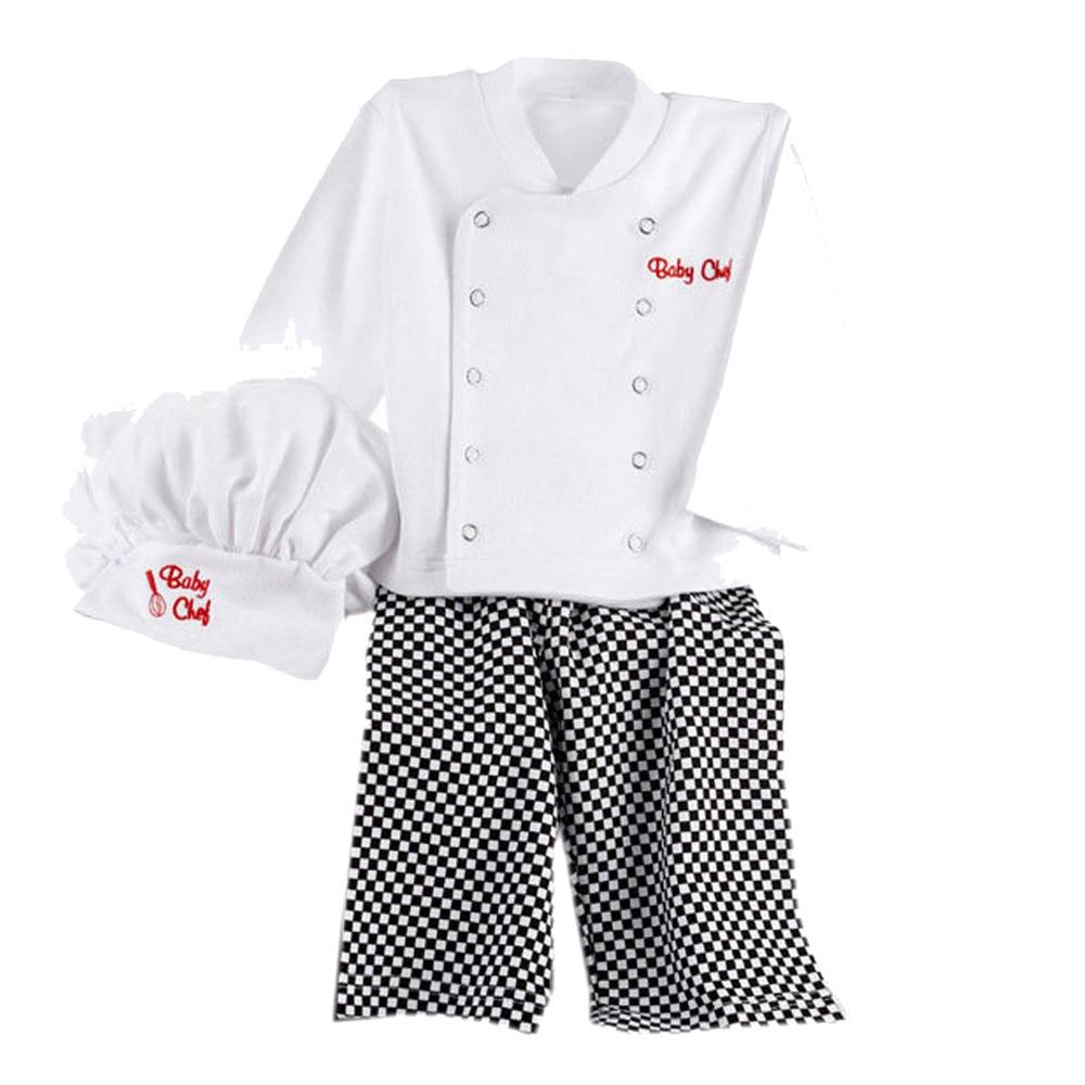 Popular Kids Chef Coats-Buy Cheap Kids Chef Coats lots from China ...