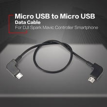 Data Cable for DJI Spark Mavic Pro Air Control Micro USB to Micro USB Adapter Line for Android Samsung Huawei Phone Tablet