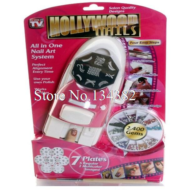 New Fashion Hollywood Nails All In One Nail Art Systemnail Art Tool