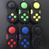 Fidget Cube Anti Stress Gift Fidget Pad Hand Puzzles Magic Pad Decompression Toys With Package For