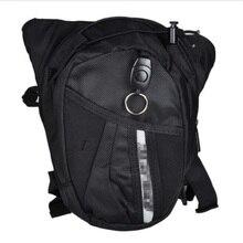 Горячая черная сумка для мотокросса сумка для езды на мотоцикле рыцарская поясная сумка для улицы многофункциональная сумка