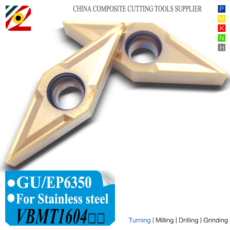 EDGEV CNC Carbide Cutter Cutter Carbide VBMT160404 VBMT160408 - ماشین ابزار و لوازم جانبی
