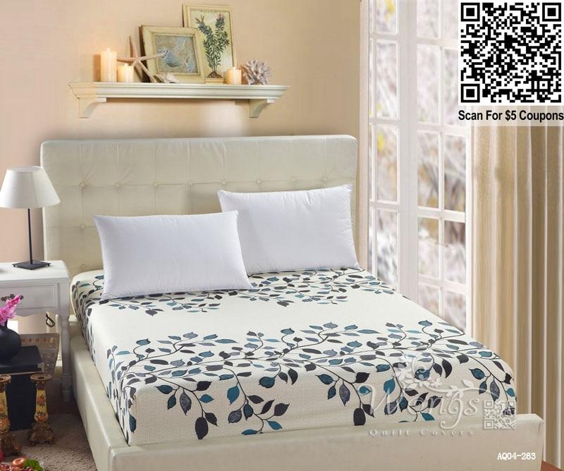 wholesale fitted bed sheet 3d print bedding sheets cover leaves stripe spot lattice bedspread. Black Bedroom Furniture Sets. Home Design Ideas