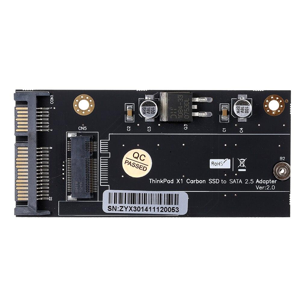 "20 + 6 Pin Ssd Zu Sata 2,5 ""adapter Karte Konverter Für Lenovo Thinkpad X1 Carbon"