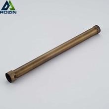 Античная Латунь 30 см удлинительная трубка для душа смеситель для душа Удлиняющая труба