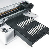 A3 размер uv led перо струйный принтер печатная машина