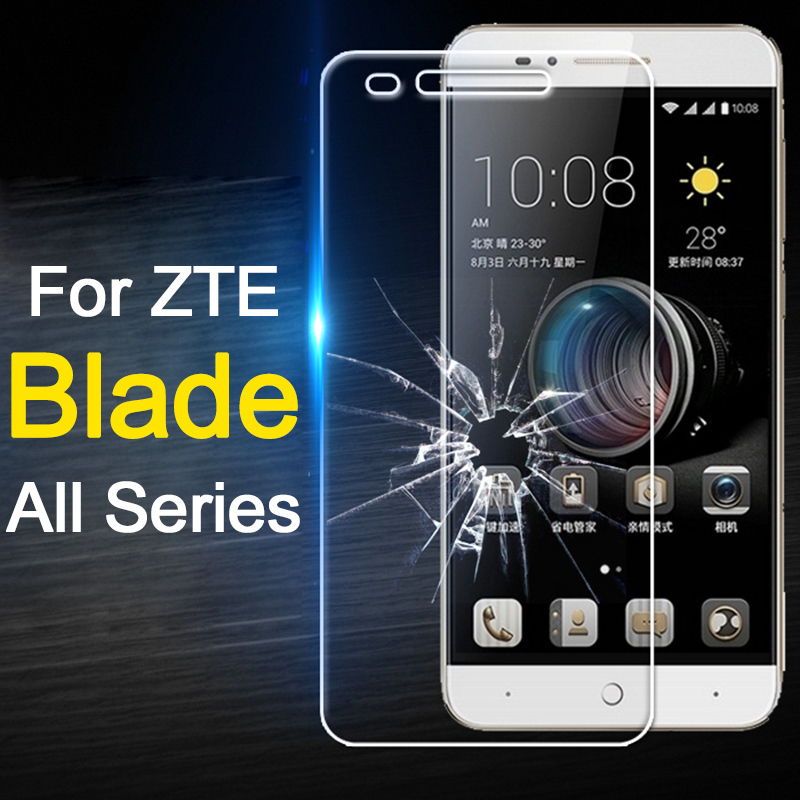 Glass For Zte A610 Glass On For Blade V7 Lite A6 A510 A512 A520 A601 Plus Screen Protector Protective Tempered Glas Film V8 V 7