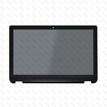 with Frame Touch LCD Screen LP156WF5.SPA2 Assembly 1080P For Toshiba Satellite Radius P50W-B Series цена