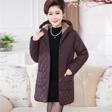 Plus Size 6xl Woman Parkas Loose New autumn winter jacket women coat fashion casual dress tops coats parka womens winter jackets