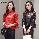 Sheepskin Genuine Leather Jacket Women 2018 Genuine Leather Coat for Women Jacket Real Leather F0194 Haining Leather 3/4 Sleeve