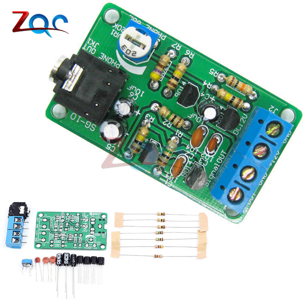 Gerador de sinal de ruído branco kit diy kit eletrônico 2-channel saída para queimar-in terapia de teste em gerador de ruído insônia