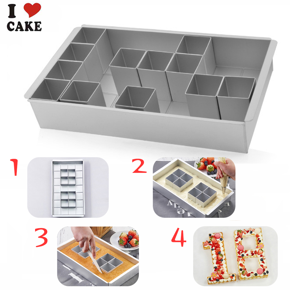 Aliexpress Com Buy Letter Number Cake Pan Set Cake