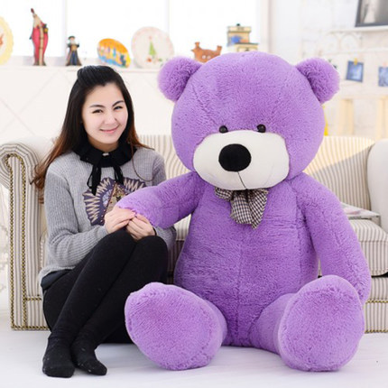 Kawaii-Genuine-100CM-Hug-Teddy-Bear-Urso-De-Pelucia-Plush-Stuffed-Animal-Dolls-Kids-Toys-Brinquedos