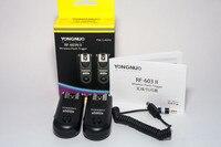 Yongnuo RF 603II Manual Flash Trigger FOR CANON 1000D 450D 400D 350D 300D PENTAX K20D K200D