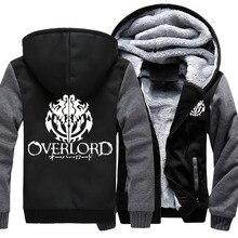 Sweat shirt à capuche pour homme, motif Anime Overlord, manteau à capuche, 4 couleurs à la mode, sweatshirt à capuche épais, sweats à capuche unisexe