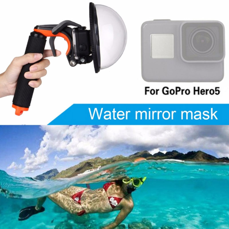 New Dome Port Lens for Gopro Hero 5 Accessories Transparent Cover Diving with Waterproof Housing Case
