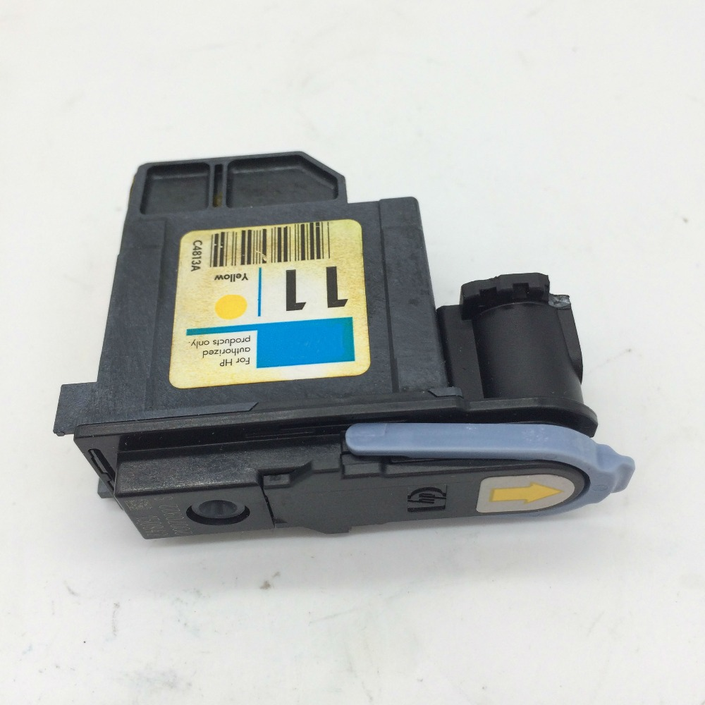 11 Yellow Printhead C4813A for HP 1000 1100 2200 2280 2300 2600 2800 CP1700 100 500 510 800 110 800 k850 120 100
