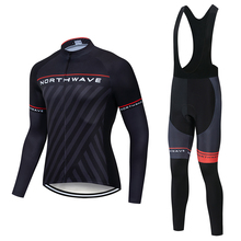 2019 NW Autumn cycling jersey Long Sleeve Cycling Jerseys clothing bicycle Team bike sets